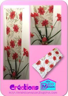 Créations Ma Déco Maison: Panneau décoratif en tissu