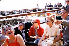 Grace Kelly's Travel Wardrobe Is Revealed in a New Collection of Never-Before-Seen Photos Grace Kelly Wedding, Grace Kelly Style, Princess Grace Kelly, Classical Hollywood Cinema, Aristotle Onassis, The Kelly Family, Boat Wedding, Monaco Royal Family, White Sunglasses