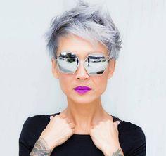 Beautiful short cuts and colors for short hair  #beautiful #colors #short