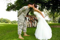 Fun wedding picture :)