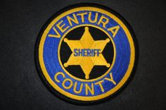 Ventura County Sheriff Patch, California