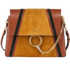 Chloe Faye Medium Patchwork Shoulder Bag