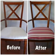 Imperfect & Fabulous: DIY - Dining Room Chair Rehab