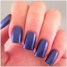 Give Me Sapphires by Sassy Cats Lacquer