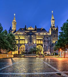 Aachen, Town Hall (Germany)