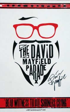 The David Mayfield Parade - DMP Hatch Show Print : Other DMP Stuff : Store