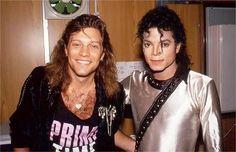 Bon Jovi y el gran Michael Jackson juntos en una foto