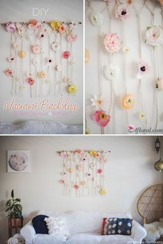 Create this gorgeous macramé backdrop for your wedding with this simple step-by-step DIY tutorial!