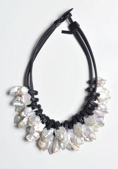 Monies UNIQUE Multi Baroque Pearl Necklace