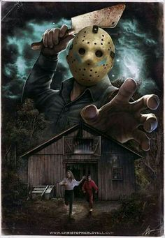 Jason Voorhees Posters Geek, Horror Icons, Horror Movie Posters, Jason Voorhees, Horror Artwork, Horror Movie Characters, Iconic Characters, Kino Film, Classic Horror Movies