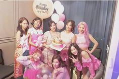 SNSD - Tiffany's Birthday Pink Party IG Update