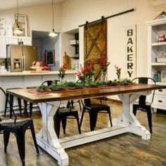 03 Comfy Farmhouse Dining Room Design Ideas