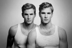 Smit twins Jordan & Travis at Mode byFred Goudon