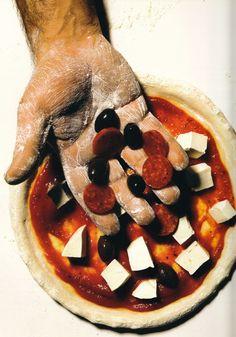 Pizza, Vogue - Irving Penn