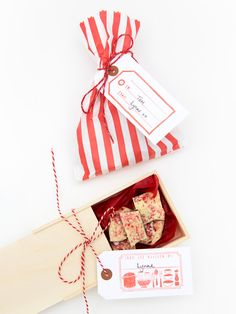 Edible gifts gift wrapping.