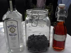 Blackberry and Earl Grey gin
