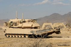 Assault Breacher Vehicle | The Assault Breacher Vehicle was specially designed to clear pathways ...