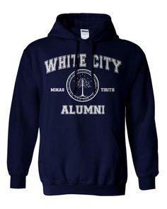 White City Alumni Hobbit Parody Hoodie Sweat Shirt