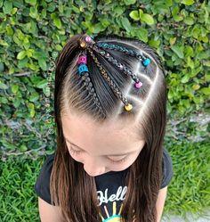 Cute Toddler Hairstyles, Little Girl Hairstyles, Cute Hairstyles, Girl Hair Dos, Baby Girl Hair, Circle Mehndi Designs, Hair Due, Crazy Hair, Hair Designs