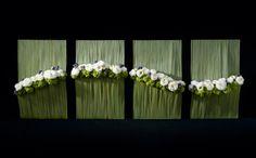 framed Floral instalation - gerahmtes Blumenwerkstück