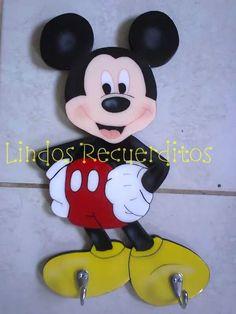 Perchero mickey mouse