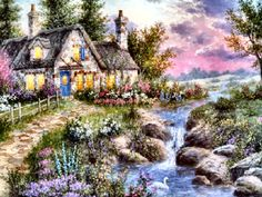 Windstone Cottage ~ Dennis Patrick Lewan