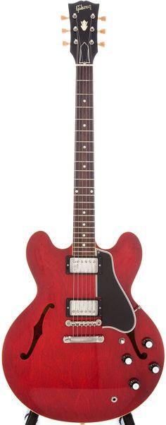 1960 Gibson ES-335 TDC Cherry Semi-Hollow Electric Guitar