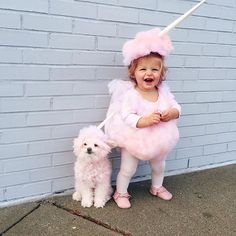 Cotton Candy #FPCostume | Freshly Picked Baby Moccasins, Pink Toddler Halloween Costume, Dog Holiday Animal Outfit Ideas