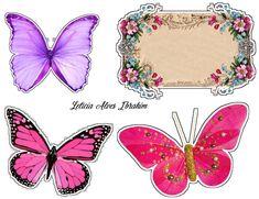 topper de borboleta / butterfly