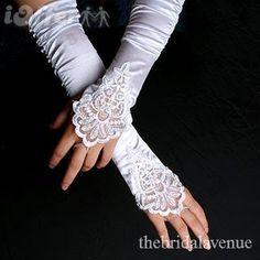 bride gloves! <3
