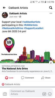 Drive By June Oakbank – Maja Larson Art My Photo Album, June 6th, Awareness Campaign, National Art, 100 Words, Make A Donation, Fundraising, It Works, Social Media