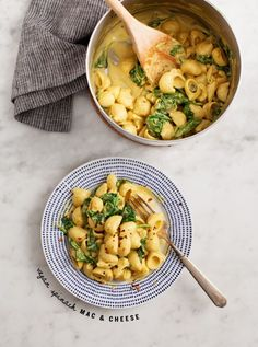 Vegan Spinach Mac & Cheese / www.loveandlemons.com
