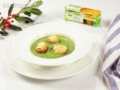 Crema di broccoli con crostini al brie   Cookaround
