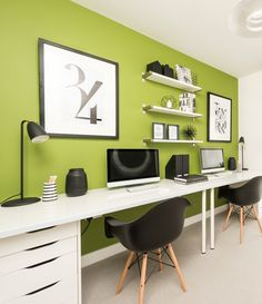 Cool home office created by Artspace Interior Design Ltd