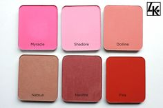 Kevyn Aucoin blush - Shadore & Dolline are 2 of my favs!!