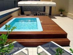 terraço com piscina - Pesquisa Google