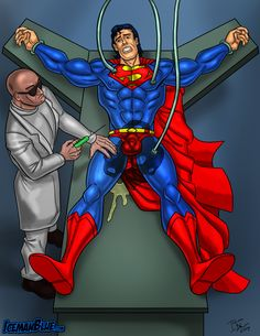 Superman and lex Luther Superman Art, Batman, Feet Show, Fantasy Heroes, Gay Comics, No Way Out, Art Story, Man Of Steel, Nightwing