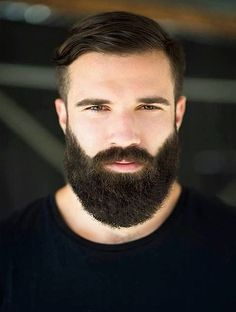 This guy has a nice complexion and a very pretty beard. I like that he is also wearing a shirt.