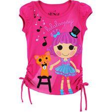 Lalaloopsy Youth Girls Pink T-Shirt Top Q2373A 4 5 6 6X