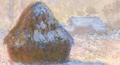 Claude Monet, Haystacks, Detail