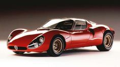 Was this Alfa Romeo's first genuine supercar? Who cares, we could look at the 33 Stradale all day. - Alfa Romeo