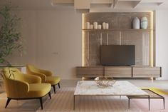 Two Similar Interiors for Couples With and Without Kids - http://www.assessmyhome.com.au/two-similar-interiors-for-couples-with-and-without-kids/      Like Architecture & Interior Design? Follow Us…     Want to achieve a beautifully crafted feel in your home, but worried the kids will stain the sofas and break the tables? Considering mustard colours in your living room, but unsure how to skilfully employ it in designing your... http://cdn.home-designing.com/wp-con