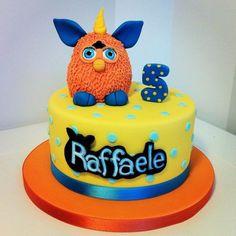 Furby Cake cakepins.com