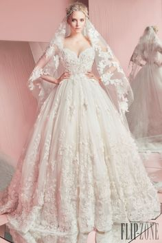 Zuhair Murad Collezione 2016 - Sposa - http://it.flip-zone.com/fashion/bridal/the-bride/zuhair-murad-5620