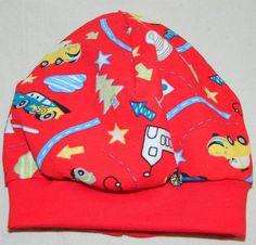Beanie, Mütze, Übergangsmütze, Jersey von  Handmade by Frollein Jessy  auf DaWanda.com