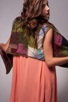 Handmade Wool Blend  Sweater Vest  One of a Kind Unique Modern. $224.00, via Etsy.