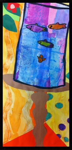 Matisse Fishbowl- First grade