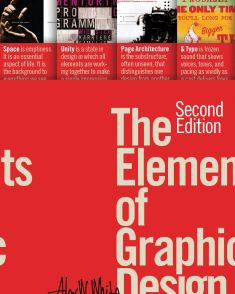 New Book: The Elements of Graphic Design : Space, Unity, Page Architecture, and Type / Alex W. Graphic Design Books, Book Design, Web Design, Graphic Designers, Visual And Performing Arts, Text Types, Art Director, Thought Provoking, Unity