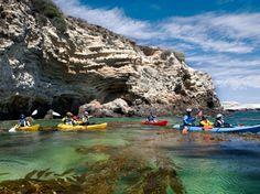 Kayaking Channel Islands - Channel Islands Kayaking Trips