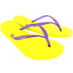 Womens Havaianas Slim Logo Beach Flip Flops Summer Holiday Sandal * You can get more details by clicking on the image.